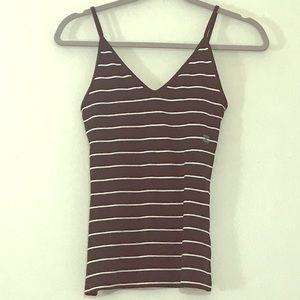 ✨NWT✨ Express Black & White Striped Camisole